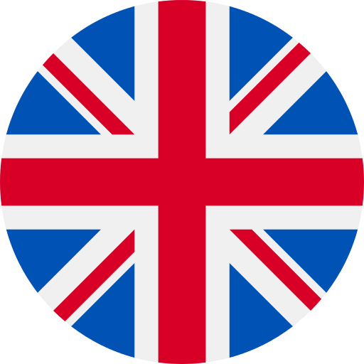 UK Flag in circle